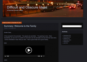 Difficult and Obscure Ideas